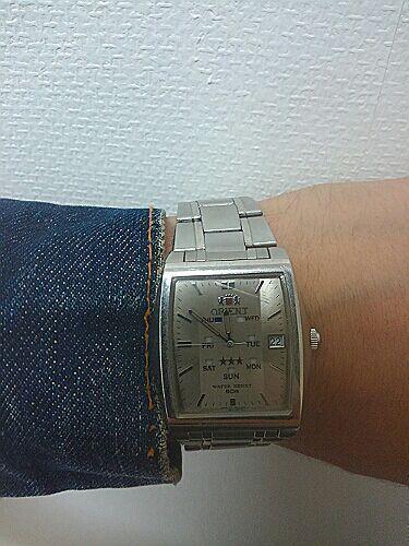 オリエントの時計が熱いです。